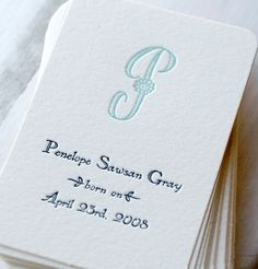 Austin Press of San Francisco » Classy Custom Calling Cards for Personal and Business Use