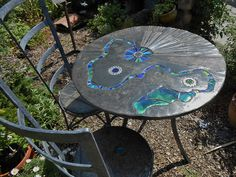 Viv's Table and chair set | by Helen Nock (www.helen-nock.co.uk)