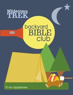 """In Wilderness Trek, children will discover God's promise, """"I am with you and will watch over you wherever you go.""""  This camp-themed backyard Bible club curriculum features two sessions, a Reader's Theater end-of-event celebration, and activities for six centers including a lesson center, activity/play center, craft center, mission center, and recreation/snack center!"""