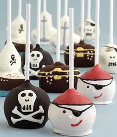 Handmade Pirate Cake Pops