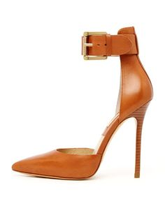 Michael Kors Adelaide Ankle-Strap Pump.