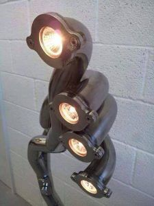 Header turned into Spotlights for the wall. Header turned into Spotlights for the wall. 40 Amazing Car Parts Furniture Ideas Are You Inspired? Visit Us For More Industrial Furniture Ideas A one stop shop for free woodworking plans Car Part Furniture, Automotive Furniture, Automotive Decor, Furniture Ideas, Man Cave Furniture, Automotive Group, Furniture Chairs, Garden Furniture, Bedroom Furniture