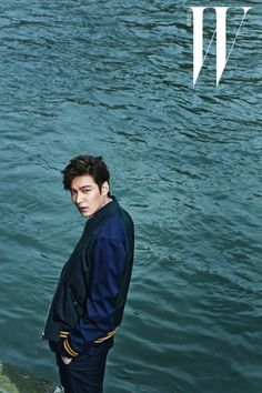 Lee Min Ho in Paris in B-cuts from his 'W Korea' pictorial