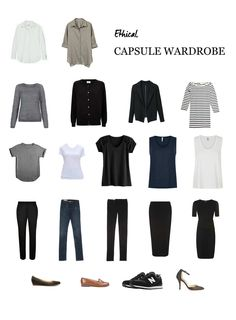 The capsule wardrobe concept has become somewhat of a fad over recent  years. The termed was coined in the 70's by boutique owner Susie Faux and  has since been an appealing way for minimalists and sustainable fashion  lovers to gain control of their overflowing wardrobes. Maintaining a  capsule wardrobe takes discipline; it is said that the 'perfect number' of  pieces to have in one's closet is 37, with rotating seasonal pieces to add  variation. I personally don't have that discipline, and…