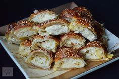 Puff Pastry Recipes, Carne, Cauliflower, French Toast, Appetizers, Food And Drink, Cooking Recipes, Yummy Food, Bread