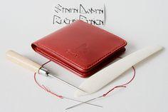 Handmade leather a man´s wallet by Brano Klocan LEATHERCRAFT  Ručne šitá kožená pánska peňaženka Leather Craft, Leather Crafts