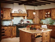 I love country kitchens