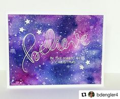 """975 Likes, 14 Comments - Simon Says Stamp (@simonsaysstamp) on Instagram: """"#Repost @bdengler4 with @repostapp ・・・ Can you say, shimmer? Painting with Distress Inks for day 8…"""""""
