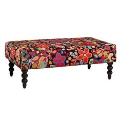 Wendy's Garden ottoman- On our showroom floor just awaiting a new LEE setee to compliment it!