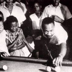 A #CodeBlackFlashback of Dr. King shooting pool on this Friday afternoon! https://www.facebook.com/Codeblacklife/photos/a.254913211190010.81431.228061520541846/996381047043219/?type=1