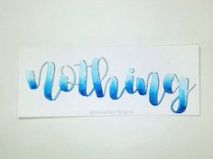 ....         #typography #lettering #handlettering #moderncalligraphy #instagood #brushcalligraphy #drawing #handwriting #simplyalison #handmade #ink #illustration #drawing #handwritten #calligraphy #brushlettering #font #letters #handdrawn #design #letteringcommunity #calligcommunity #quote #love #picoftheday #instaart #nothing #feelingblue #sad #fuckit