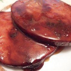 Easy Tasty Ham Steaks with Maple Glaze For 2 - Allrecipes.com