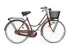 ドルチェ&ガッバーナからワイルドなヒョウ柄の自転車が世界中の店舗にて限定発売 | ニュース - ファッションプレス