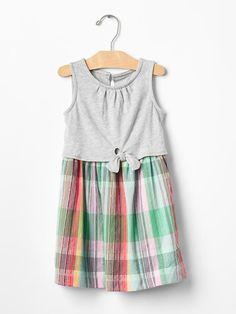 Knot two-piece dress