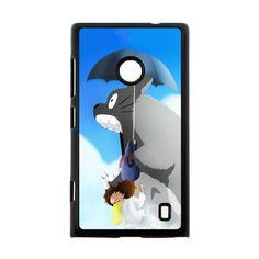 The Umbrella Totoro Under Umbrella Case for Nokia Lumia 520