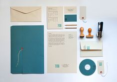 TATABI branding: stationery, stamps & logo construction by TATABI Studio, via Behance Corporate Design, Brand Identity Design, Branding Design, Corporate Identity, Visual Identity, Identity Branding, Personal Identity, Logo Construction, Web Design Studio