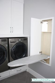 Laundry room cabinets get inspired by our laundry room storage ideas and designs. Allow us to help you create a functional laundry room with plenty of storage and wall cabinets that will keep your laundry. Laundry Room Cabinets, Laundry Room Organization, Laundry In Bathroom, Laundry Decor, Organization Ideas, Storage Ideas, Diy Cabinets, Bathroom Closet, Basement Laundry