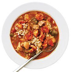 Smoky Shrimp and Chicken Gumbo Recipe | MyRecipes.com Mobile