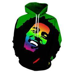Bob Marley Clothing, Bob Marley Art, Reggae Style, Novelty Store, Heading Fonts, Kangaroo Pouch, Hoodies, Sweatshirts, Unisex