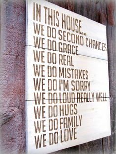 wall art, houses, famili, front doors, second chances, house rules, quot, family motto, family rules