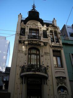 Petit Hotel / Calle Suipacha al 900, Buenos Aires, Argentina / Art Nouveau