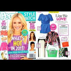"""@peoplestylewatchmag #February #issue """"line we love"""" is #W118bywalterbaker featuring our #resort #collection. Available now at www.walterbaker.com #shop #musthave #fashonista #magazine"""