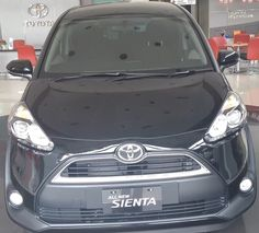 Review: All New Toyota Sienta 2016 Type V Manual Transmission Black Colo...