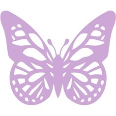 Silhouette Design Store - View Design #12427: butterfly cutout