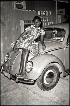 Afro Negro Club Kinshasa (1960) by Jean Depara