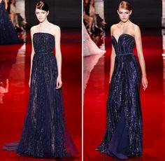 Elie Saab desfilou hoje sua coleção fall 2013 na semana de alta-costura, em Paris. Como sempre, vestidos deslumbrantes para inspirar madrinhas e convidadas