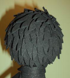 Peinado de nuestro enamorado...