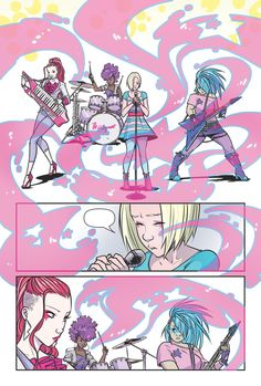 Jem and the Holograms #1 - Free Preview! - IDW Publishing