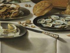 Still Life with a Turkey Pie, Pieter Claesz., 1627 - Still lifes - Works of art - Explore the collection - Rijksmuseum