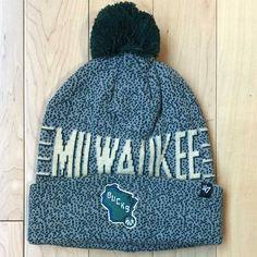 5f6fe523963  47 BRAND Mezzo Beanie Milwaukee Bucks