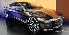 Photographs of the 2014 BMW Vision Future Luxury Concept. An image gallery of the 2014 BMW Vision Future Luxury Concept.
