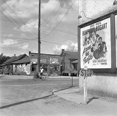 "1943 Daytona Beach Theater Poster ""Across the Pacific"""