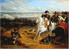 "1809-""Napoleon at Wagram- July 1809""- 1841 by Joseph Louis Hippolyte Bellange´."