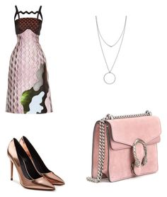 """""""HooPS"""" by jzsharar ❤ liked on Polyvore featuring Mary Katrantzou, Alexander Wang, Gucci and Botkier"""