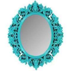 Wall Mirror Turquoise Shabby Chic Victorian Girls Room Nursery Home Decor   eBay