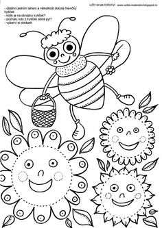 Spring Activities, Activities For Kids, Cute Coloring Pages, Peppa Pig, Bugs, Butterfly, Classroom, Kids Rugs, Sewing