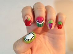 Fruit Nail Art Gallery by Allure Nail Supply
