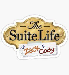 The suite life of Zack and Cody Sticker Bubble Stickers, Meme Stickers, Clear Stickers, Cool Stickers, Transparent Stickers, Laptop Stickers, Sticker Shop, Sticker Design, Disney Channel
