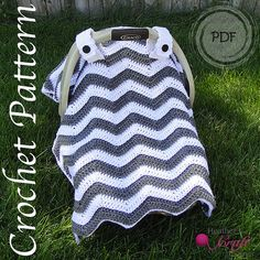 Hey, I found this really awesome Etsy listing at https://www.etsy.com/ca/listing/201543920/crochet-pattern-chevron-car-seat-canopy