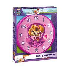 Reloj Pared de Patrulla Canina - Paw Patrol Skye