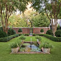 Formal Lawn - Landscape Designs: Good Bones Make Great Gardens - Southern Living