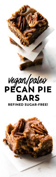 Vegan + Paleo Pecan