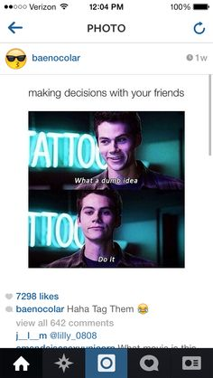 I love Dylan  and his awkwardness