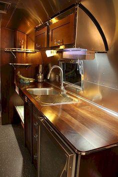 Cool 90 Modern RV Living Remodel Travel Trailers Ideas https://roomadness.com/2018/04/02/90-modern-rv-living-remodel-travel-trailers-ideas/