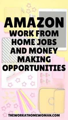 Are you searching for legit ways to work from home with Amazon? Then check out this list of different ways you can make money with with the e-commerce giant, and scams to watch out for! #workathome #jobs #online #business #startup #entrepreneur #sellthingsfromhome #legitimate #legit Amazon Work From Home, Cash From Home, Legit Work From Home, Legitimate Work From Home, Work From Home Jobs, Make Money From Home, Make Money Online, Extra Money Jobs, How To Get Money Fast