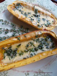 Boomer Real Food Recipes   Delicata Squash   Healthy Eating